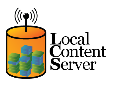 Learning Content Server logo